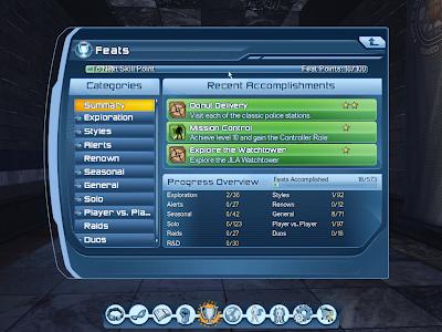 DC Universe Online - Feats