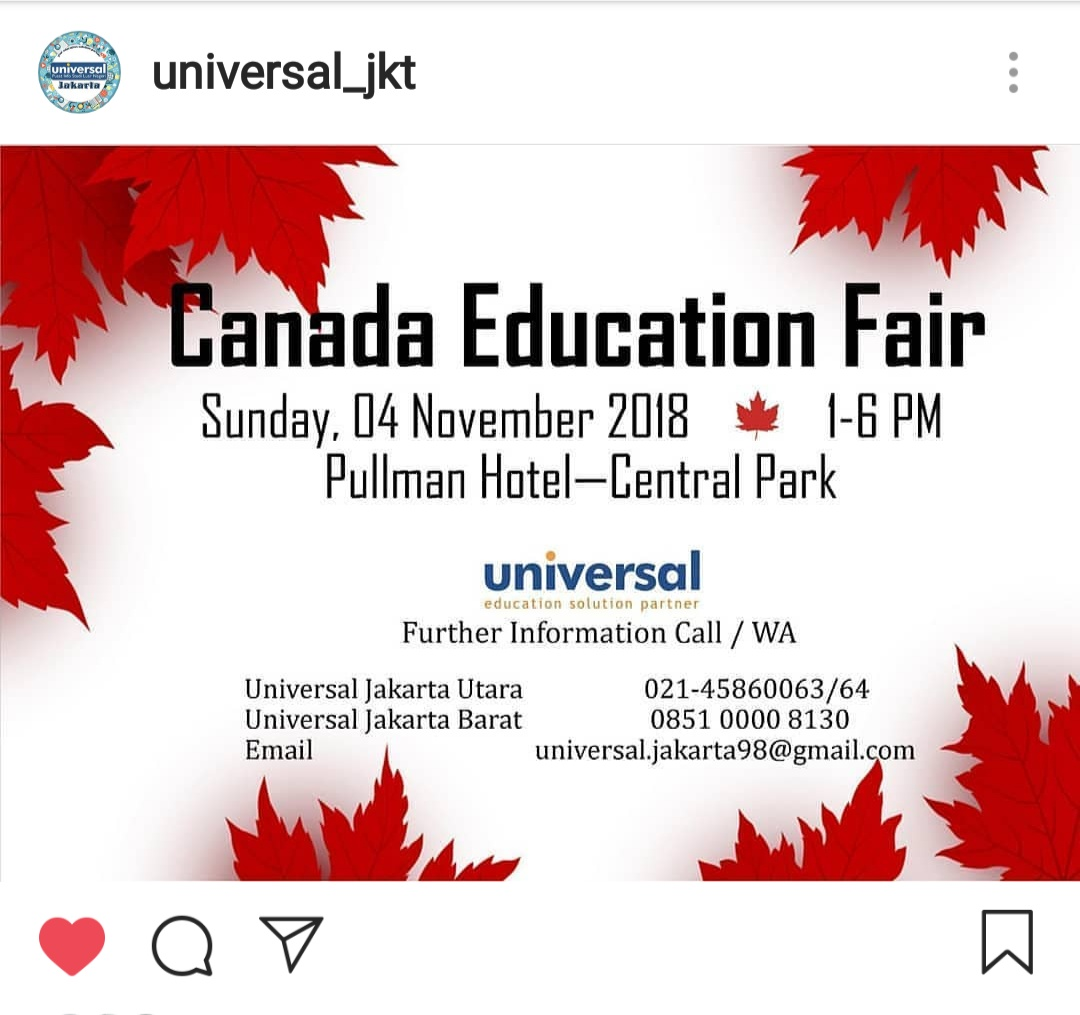 CANADA Education Fair