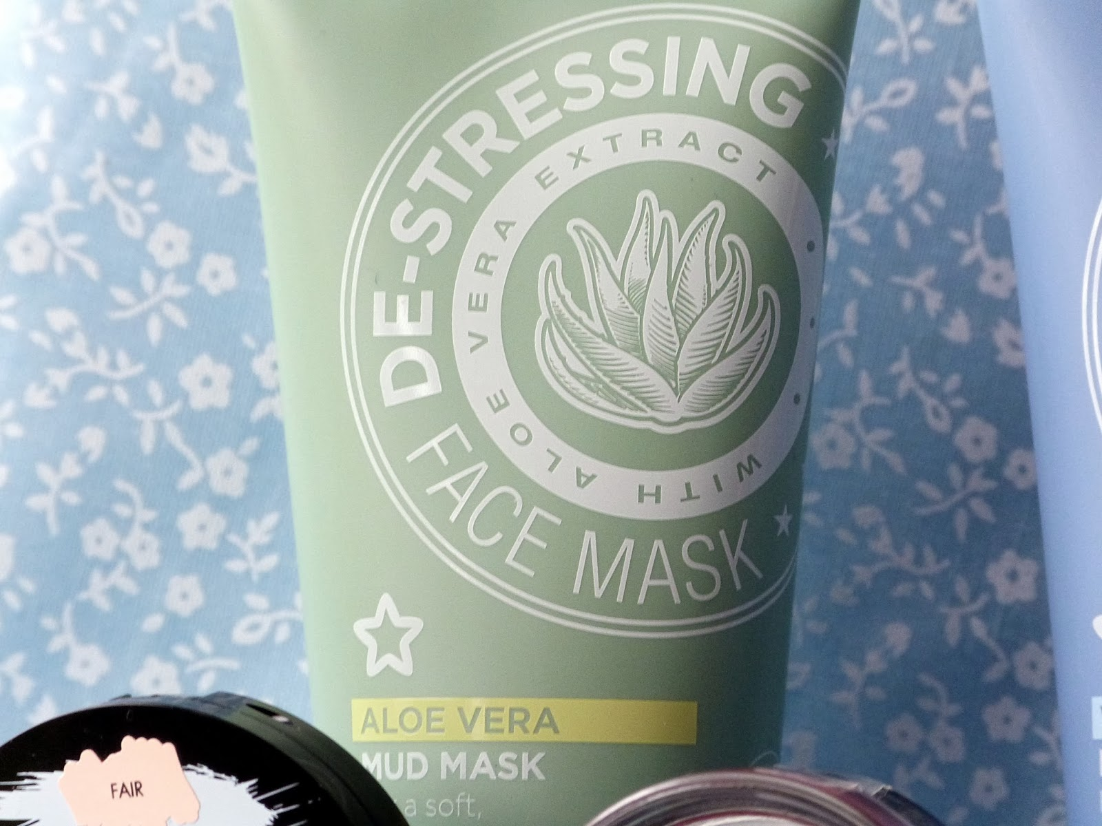 Superdrug De Stressing Aloe Vera Mud Mask