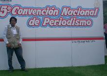 ANTONIO MORQUECHO ASISTE A LA CONVENCION NACIONAL DE PERIODISMO EN EL PAIS