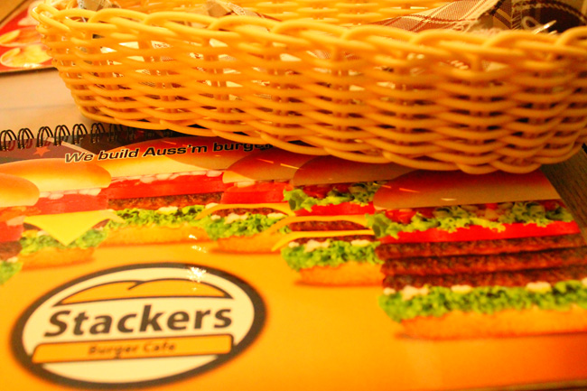 "Stackers is an Australian food house serving really good Burgers. Food, Stalkers Burger Café is one of our favorite. French Fries, Rice and huge big chicken serving, Australian food house in the Philippines, Australian food house in the Manila, Australian food house in the Eastwood City"" title="