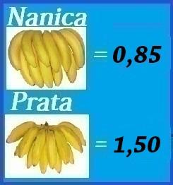Cotação da Banana   23/5 a 30/5.