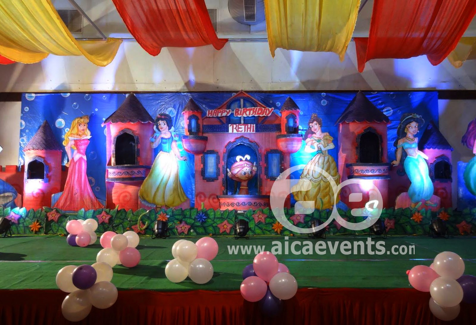 Here are some of images of the Barbie Theme Decorations did by AICA events at Tirupathi in the month of September 2014 & Aicaevents India: Barbie Theme Decorations for girls Birthday Parties