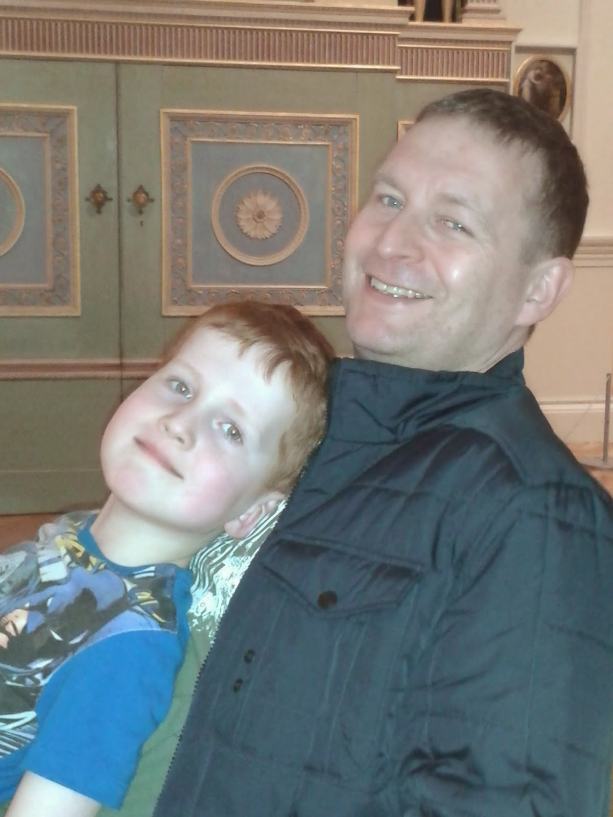 Dad and Ieuan