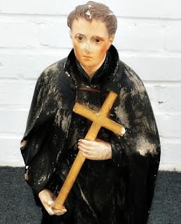 São Luiz Gonzaga, Museu Missioneiro de São Borja. Obra em gesso.