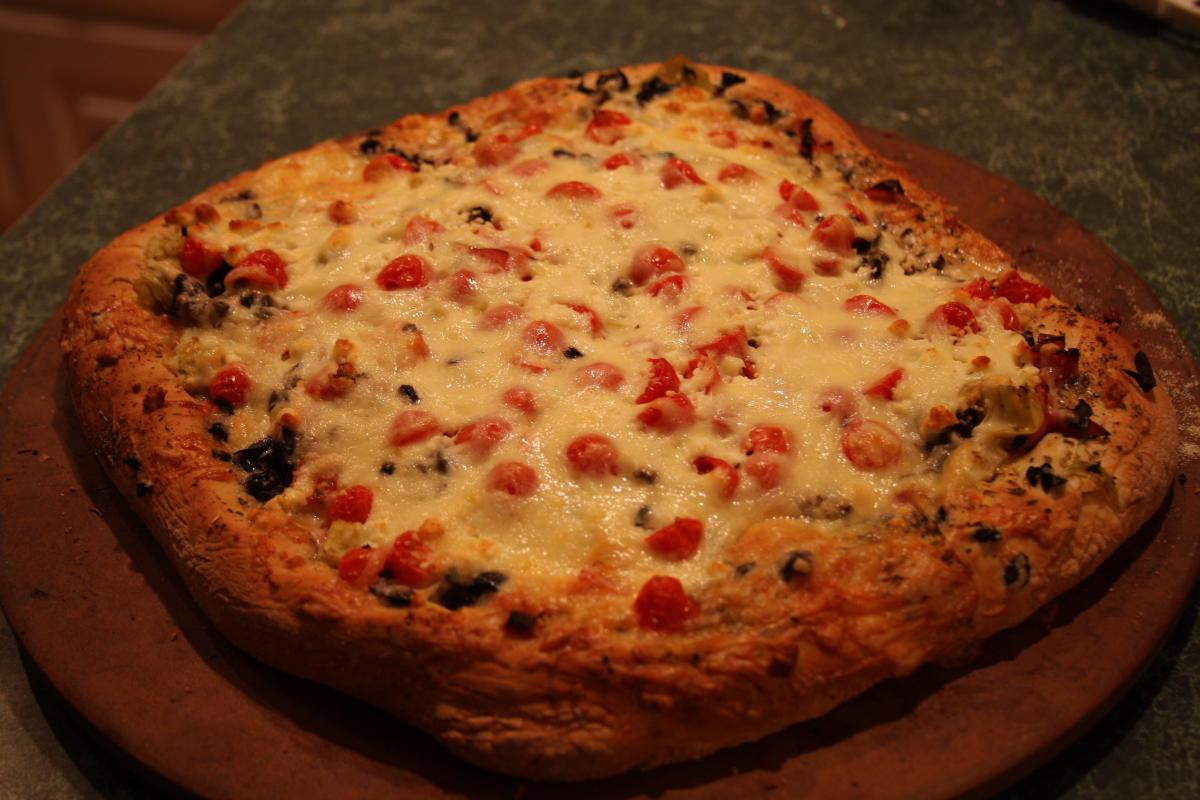 Lueker Munchkins: Homemade Pizza