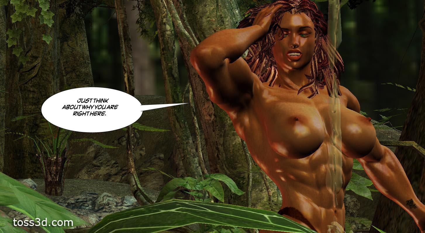 Amazon woman catfight 3d pics sex comic