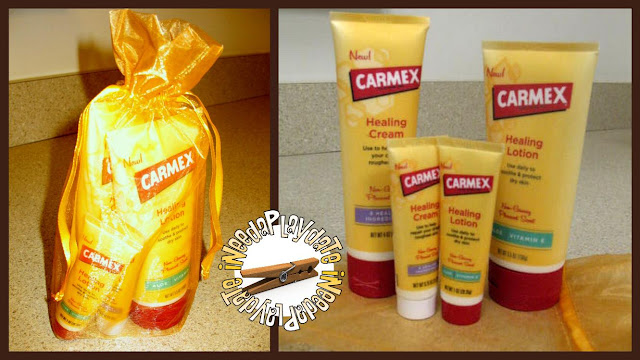 Carmex Healing Lotion and Cream