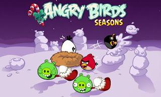 Angry Birds Seasons: Winter Wonderham! v3.1.0 APK: chim điên mùa giáng sinh