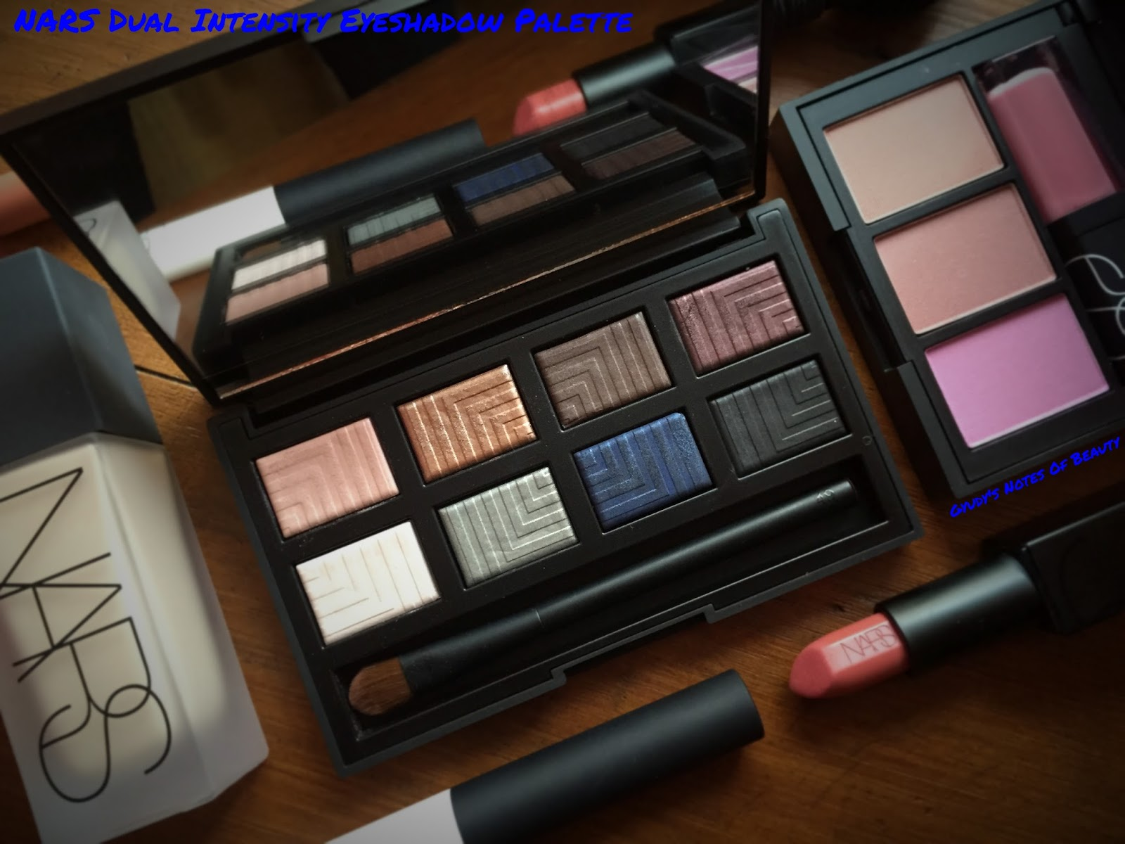 Nars Dual Intensity Eyeshadow Palette Review