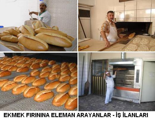 ekmek fırınına eleman arayanlar ekmek fırını is ilanlari