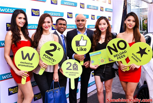 Watsons VIP Card with Touch n Go, Watsons VIP Card, Touch n Go, benefits, watsons vip card launch, nz wheel mercedes benz, Abdul Karim Md. Lassim, CEO Touch 'n Go, Kulvinder Birring, Managing Director of Watsons Malaysia