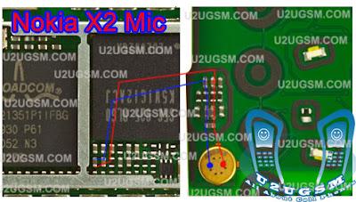 Nokia X2-02 Mic Jumper