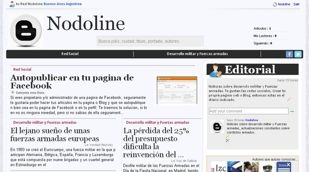 Diario online Red Nodoline
