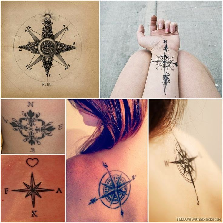 Compass Tattoo By Tattoo Lawas