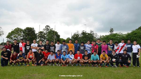 Clínica de rugby juvenil en Orán