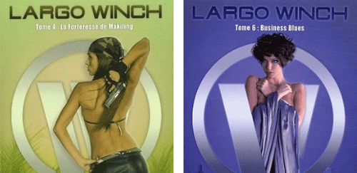 Largo Winch couvertures