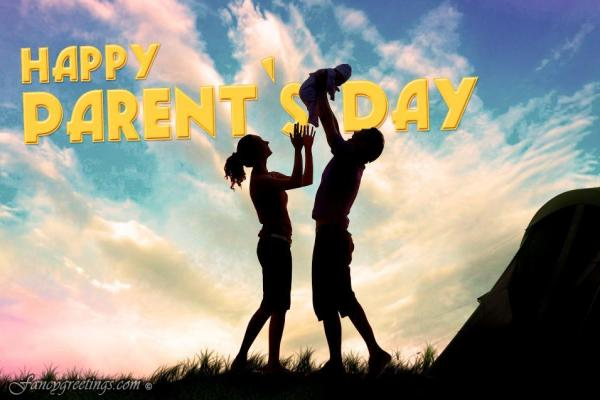 Happy Parents Day 2015 Greeting card, Ecard, Cliparts, Sayings Images