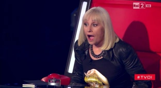 raffaella carrà giudice a the voice of italy 2014