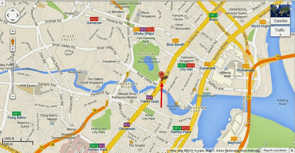 Detail Hill Street Building Singapore Location Map – Tourist Map Of Singapore City