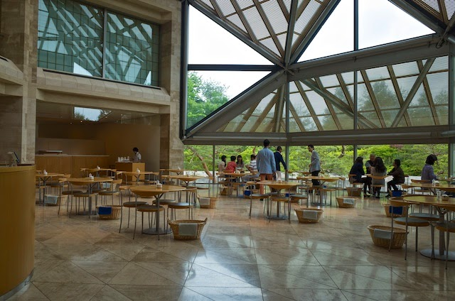 MIHO MUSEUM 南館 喫茶室