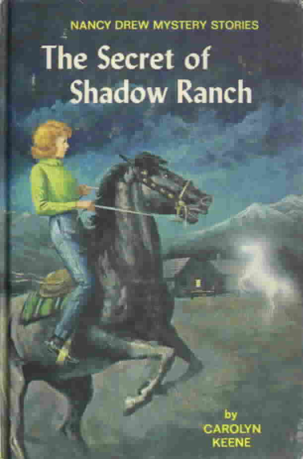 Nancy Drew Book Cover Pictures : Series books for girls nancy drew the secret at shadow