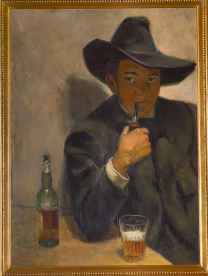 Diego Rivera, autoportrait, 1907