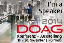 DOAG 2014 Speaker