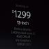MacBook Pro voortaan standaard met retinascherm