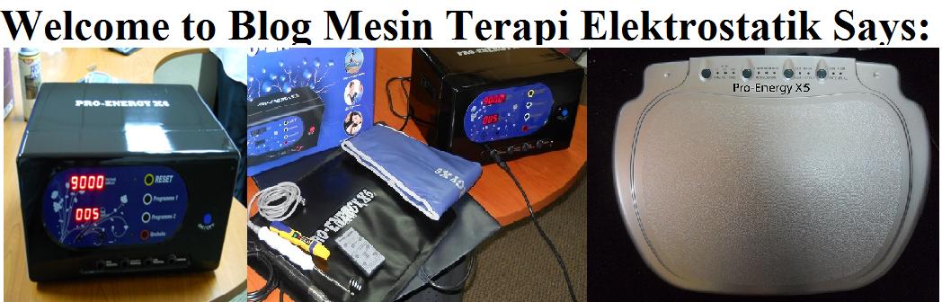Mesin Terapi Elektrik Pro Energy Memang Hebat