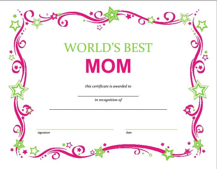 loft chic: Láminas y diplomas para imprimir para el día madre
