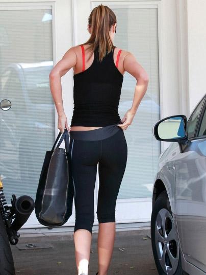 Minka Kelly Yoga Pants