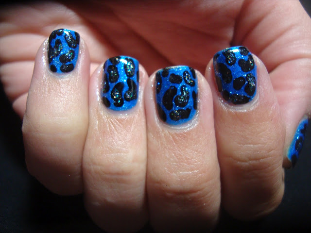 31 day nail art challenge blue