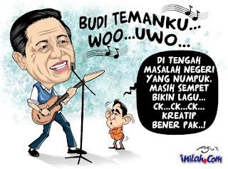 SBY bernyanyi untuk sea games