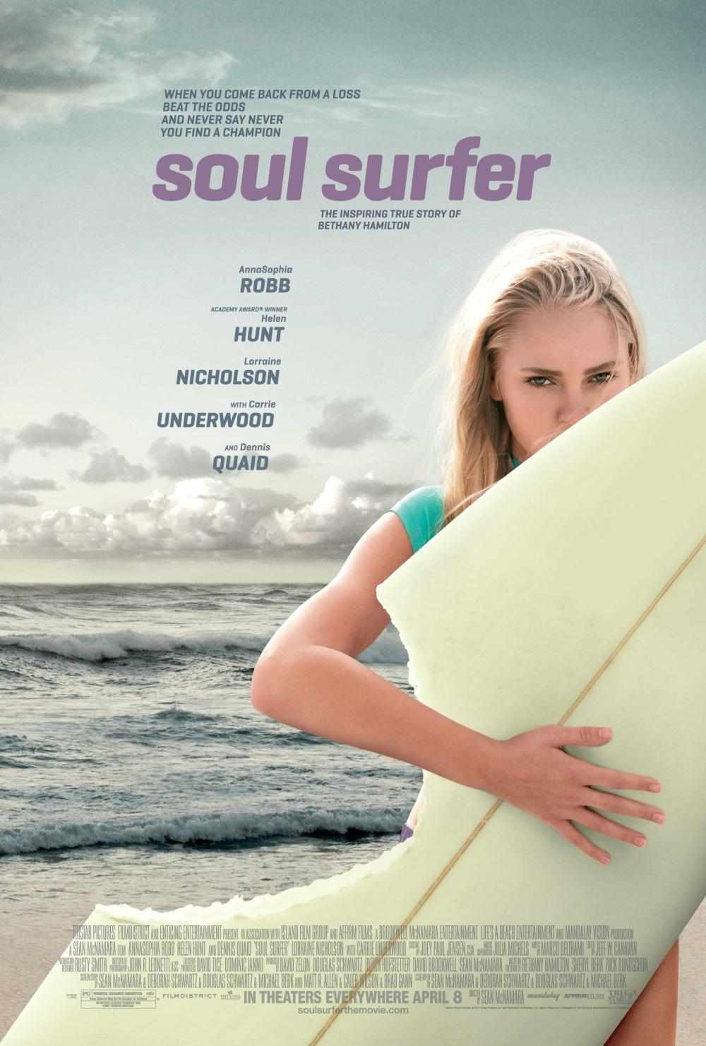 Soul Surfer affiche