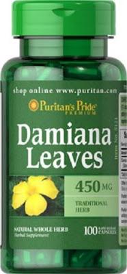 Damiana Leaves, per il trattamento della disfunzione erettile