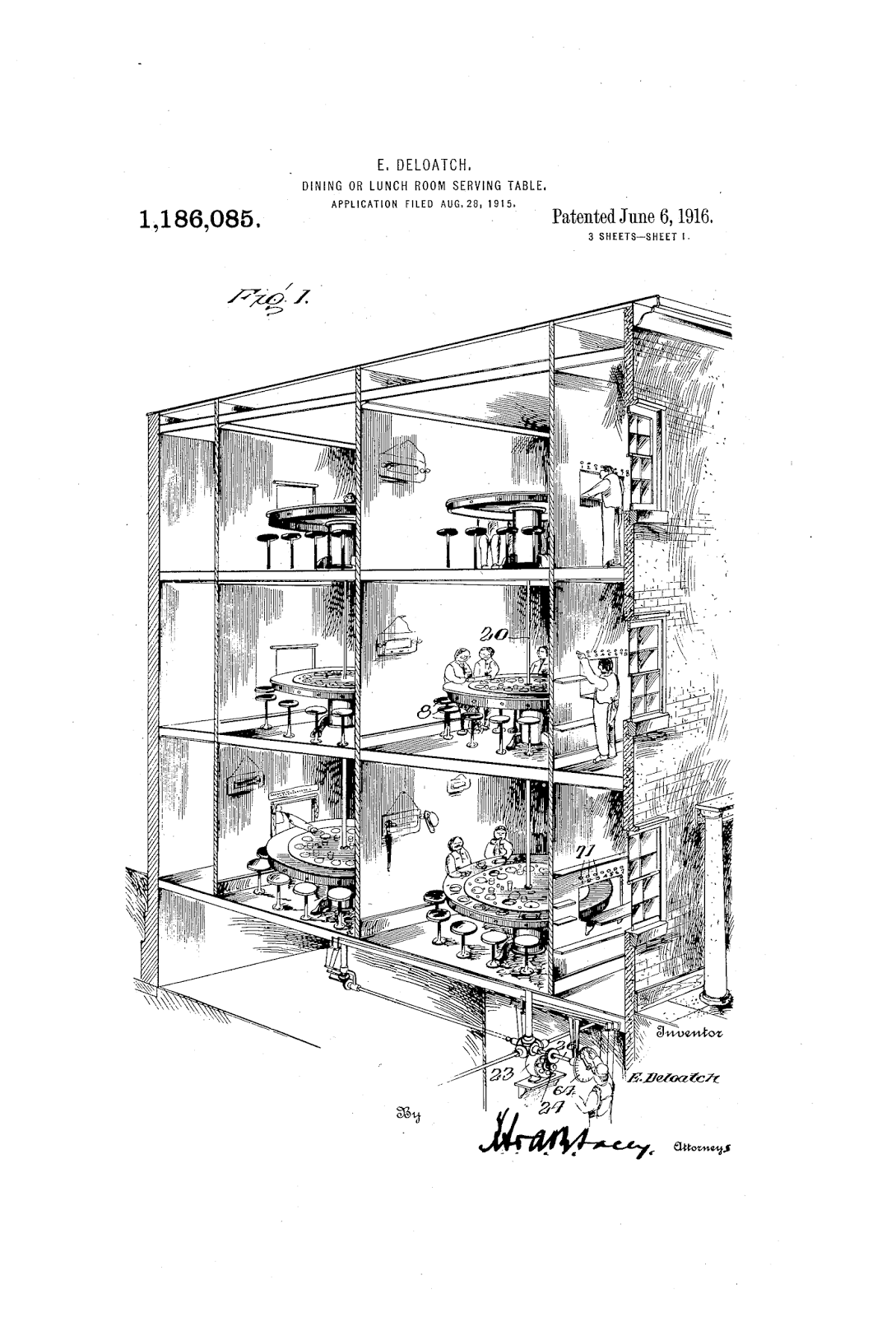 the patent search blog self serving tables a bizarre invention