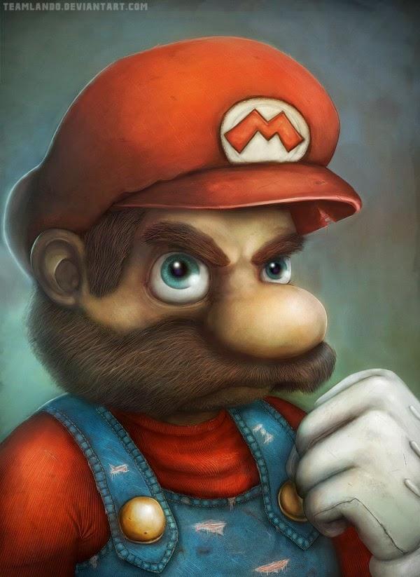 Que pasaria si Mario bros fuera malo