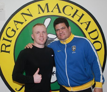 Rigan Machado and I.