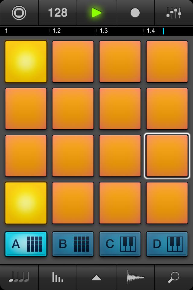 Создание музыки на iphone