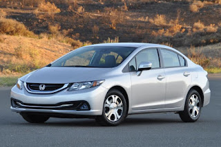 2015 New  Honda Civic MOdel Hybrid front view