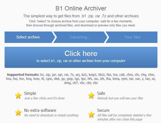 B1 Free Archiver