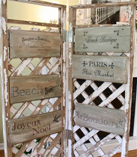 The polka dot closet painted signs no skill needed for How to display wood signs at craft show