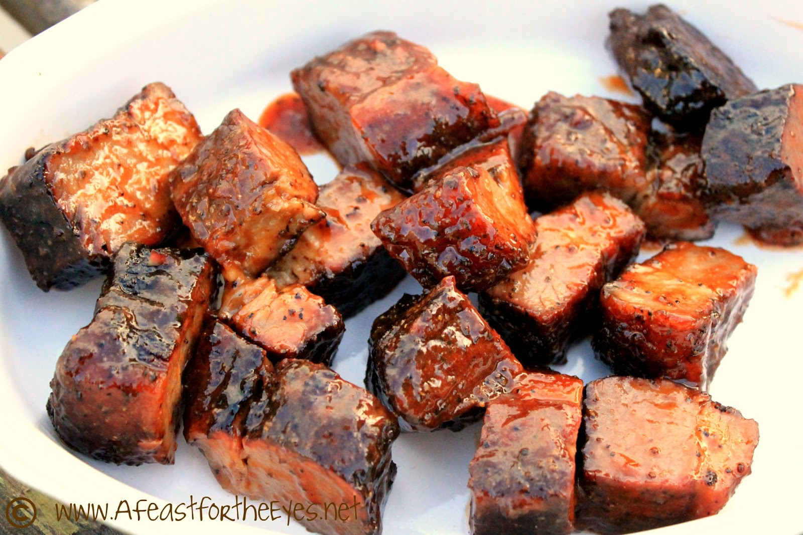"... ) barbeque places, I saw ""burnt ends"" on the menu. Burnt ends? ..."