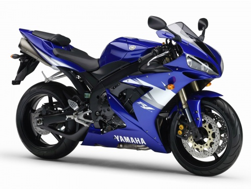 moto yamaha bike. Yamaha R1, Despite The Old Name, And A Completely New Bike. If Previous Model Apparently Looked Too Faceted Then In 2004 Bike Became More Licked, Moto