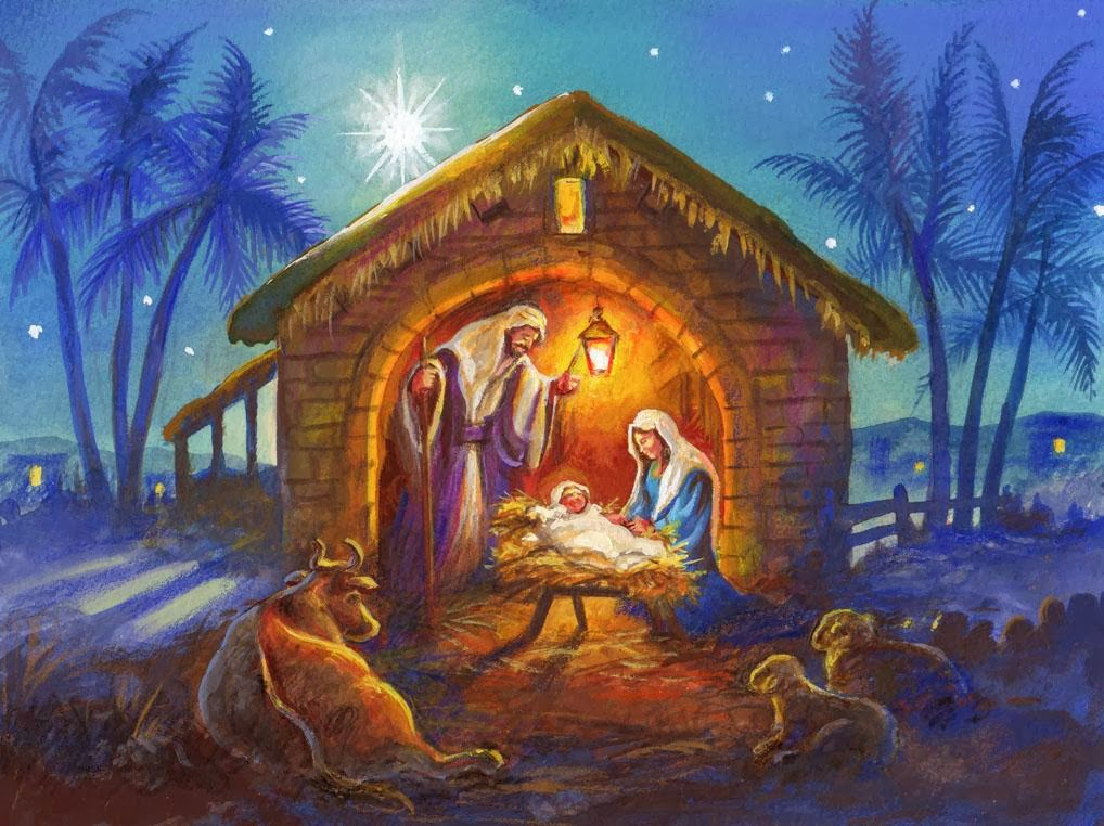 This is a graphic of Dynamite Nativity Christmas Images