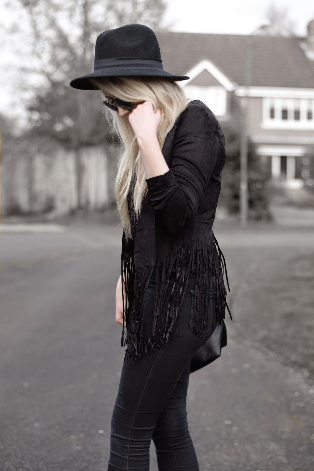 Sammi Jackson - 2 Ways To Wear A Fringed Jacket - Look 2