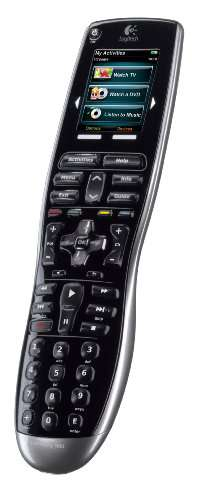 Logitech Harmony 900 Rechargeable Remote with Color Touch Screen