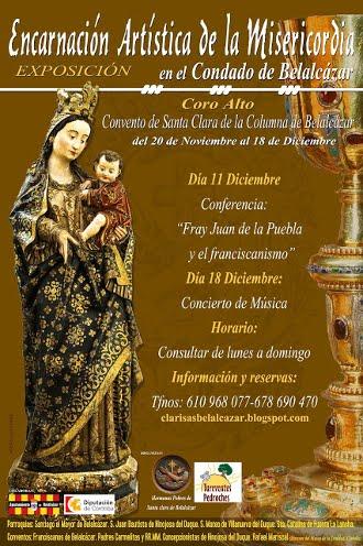 Exposición Encarnación Artística de la Misericordia en el Condado de Belalcázar