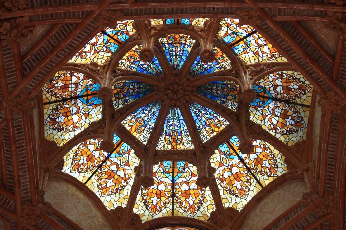 Dome in Hospital de Sant Pau